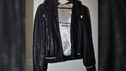 Manafort feathers nest with $15,000 ostrich jacket but where are the feathers? CNN's Jeanne Moos reports.      OMG Ostrich Jacket   We go to town on Paul Manafort's $15,000 ostrich jacket and his $9,500 ostrich vest (did he wear them together?). If you were imagining feathers, you're not alone. We have funny tweets from people saying they preferred to imagine Liberace-style feathers but figured the jacket must be ostrich leather. It was. In addition to the evidence photo that we believe shows THE jacket, we'll be showing a $35,000 Hermes Birkin bag made out of ostrich and even a J Lo video where she leads an ostrich on a leash as a status symbol while singing about money. But ostrich wasn't even Manafort's most expensive skin...that would be python (an $18,500 python jacket). We'll make a brief detour to another evidence photo of Manafort's plaid jacket, which led to tweets suggesting Manafort loaned Michael Cohen his jacket cause they both have a similar one. Will also include late nights who have been making ostrich jokes, showing an ostrich on the witness stand and a jury made up of ostriches. They've such funny-looking creatures. We'll be showing plenty of actual ostrich video. By the way, the little raised dots on the leather give it away as ostrich skin...the bumps mark the follicles where the feathers used to be.