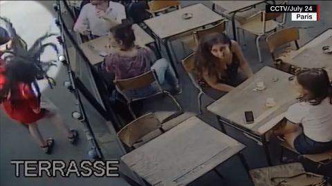 paris harassment punch Marie Laguerre