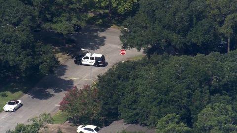 The Houston neighborhood where police say Joseph Pappas took his own life on Friday.