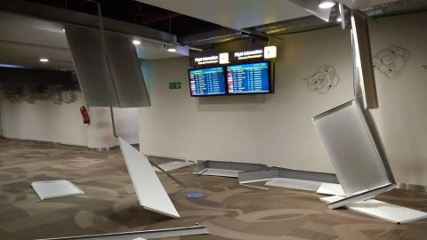 """""""Everyone is okay and the airport still operating normally.î"""