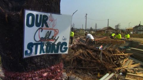 With fires raging near Redding, CA, we re-visit Santa Rosa where entire neighborhoods were wiped out by the Tubbs fire, and residents are still trying to recover.