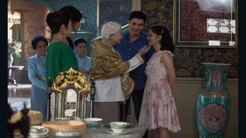 """Michelle Yeoh, Gemma Chan, Henry Golding and Constance Wu star in """"Crazy Rich Asians."""""""