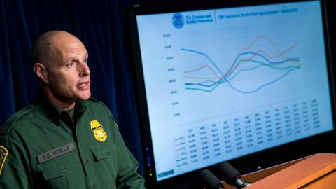 Ronald D. Vitiello speaks during a Department of Homeland Security press conference on December 5, 2017 in Washington, DC. (Photo by Drew Angerer/Getty Images)