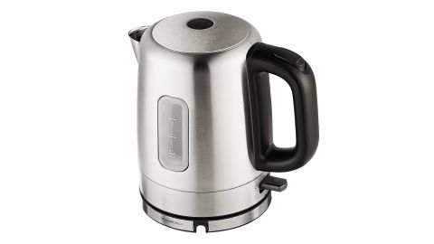 """<strong>AmazonBasics Stainless Steel Electric Kettle ($18.99; </strong><a href=""""https://amzn.to/2nl4JhG"""" target=""""_blank"""" target=""""_blank""""><strong>amazon.com</strong></a>)"""