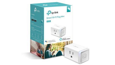 """<strong>Smart Wi-Fi Plug Mini ($26.99; </strong><a href=""""https://amzn.to/2OT700v"""" target=""""_blank"""" target=""""_blank""""><strong>amazon.com</strong></a>)"""