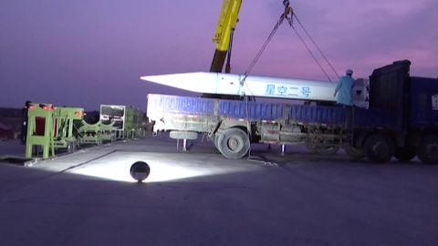 The Starry Sky-2, China's first successfully tested hypersonic aircraft.