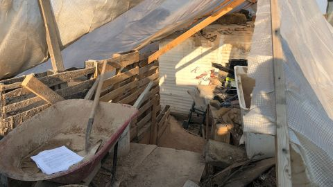 """The property has """"open trenches and pits,"""" according to the Taos County sheriff."""