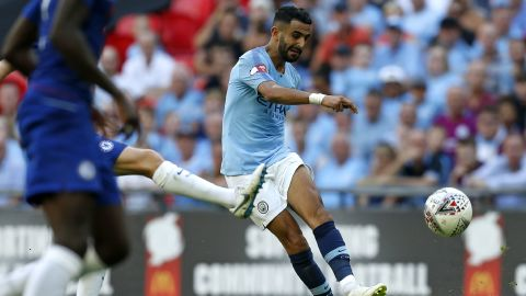 Riyad Mahrez moved from the 2016 English Premier League champions Leicester City to the reigning title holders when he joined Manchester City on a five-year deal for $77 million.