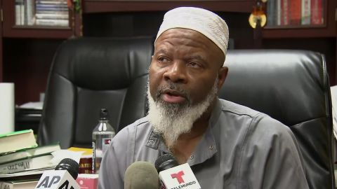 Imam Siraj Wahhaj is the father of Siraj Wahhaj, who was arrested August 3 at a compound outside of Taos, New Mexico.
