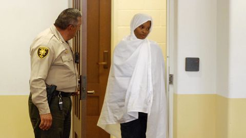 Hujrah Wahhaj in New Mexico district court.