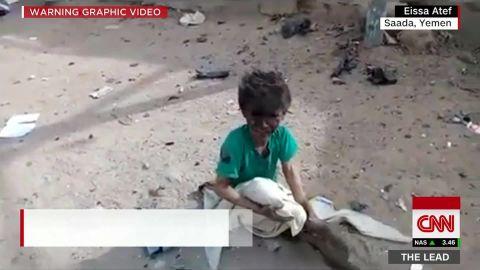 Lead Jake Tapper reports live Yemen_00004926.jpg