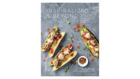 """<strong>Inspiralized and Beyond: Spiralize, Chop, Rice, and Mash Your Vegetables into Creative, Craveable Meals ($7.99; </strong><a href=""""https://amzn.to/2OqaC90"""" target=""""_blank"""" target=""""_blank""""><strong>amazon.com</strong></a><strong>)</strong>"""