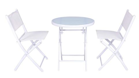 """<strong>Giantex 3 Piece Folding Table and Chairs (starting at $72.99; </strong><a href=""""https://amzn.to/2vs77Ib"""" target=""""_blank"""" target=""""_blank""""><strong>amazon.com</strong></a><strong>)</strong>"""