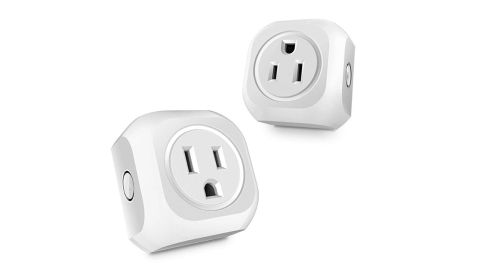 """<strong>Wifi Smart Plug ($19.99; </strong><a href=""""https://amzn.to/2MwaXWZ"""" target=""""_blank"""" target=""""_blank""""><strong>amazon.com</strong></a><strong>)</strong>"""
