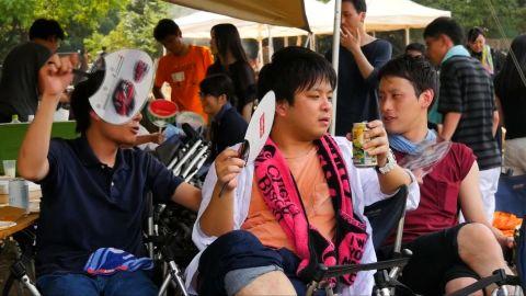 Heatwave in Asia
