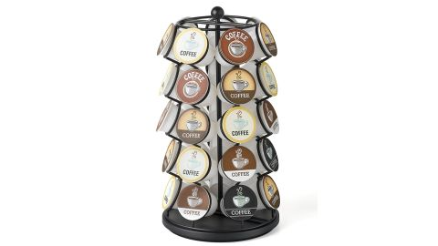 """<strong>K-Cup Carousel ($13.99, originally $29.99; </strong><a href=""""https://amzn.to/2OZ5gmk"""" target=""""_blank"""" target=""""_blank""""><strong>amazon.com</strong></a><strong>)</strong>"""