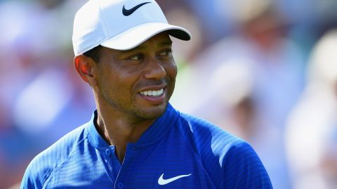 Tiger Woods moved into contention with his second straight 66 at the PGA Championship in St. Louis.