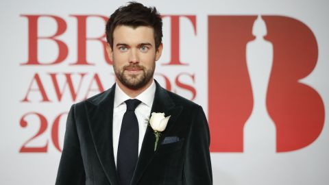 British comedian Jack Whitehall poses on the red carpet on arrival for the BRIT Awards 2018 in London on February 21, 2018. / AFP PHOTO / Tolga AKMEN / RESTRICTED TO EDITORIAL USE  NO POSTERS  NO MERCHANDISE NO USE IN PUBLICATIONS DEVOTED TO ARTISTS        (Photo credit should read TOLGA AKMEN/AFP/Getty Images)
