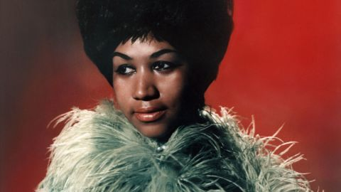 """CIRCA 1967:  The """"Queen of Soul"""" Aretha Franklin poses for a portrait with circa 1967. (Photo by Michael Ochs Archives/Getty Images)"""