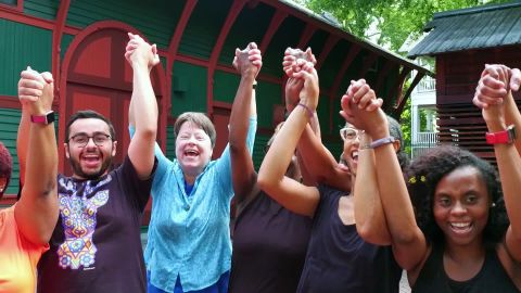 Laughter yoga can help ease anxiety and depression, while building unique connections with others.