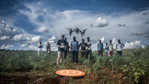 """Last year, UNICEF and the Malawian government set up a <a href=""""https://www.cnn.com/2017/07/01/africa/malawi-unicef-aid/index.html"""" target=""""_blank"""">drone testing corridor</a> in Lilongwe to investigate how drones can be used for humanitarian work."""