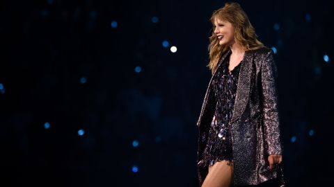 Taylor Swift, performing in August
