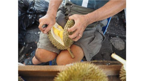 """<strong>New experiences:</strong> """"If you're looking for experiences, a really great way to do it is to hunt durian,"""" says Gasik."""