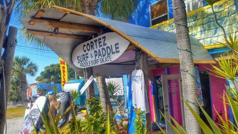 Cortez Surf & Paddle in Cortez, Florida.