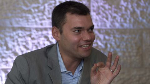 Peter Beinart, pictured in 2012, says he was detained by Israeli authorities and interrogated about his political views.