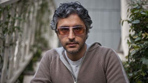 Reza Aslan, seen here in a 2009 photo, says he was inspired by Beinart's story to recount his detention at the Israeli border.
