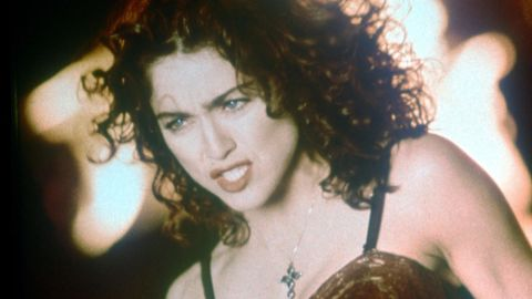 """Featuring stigmata, burning crosses, and a love scene with a Black, Jesus-like saint, 1989's """"Like a Prayer"""" remains Madonna's most overtly Catholic and controversial video. It led to a cancelled endorsement deal with Pepsi and condemnation from the Vatican itself. """"My own Catholicism is in constant upheaval. When I left home at 17 and went to New York, which is the city with the most sinners, I renounced the traditional meaning of Catholicism in terms of how I would live my life,"""" she told The Times that year. """"But I never stopped feeling the guilt and shame that are ingrained in you if you are brought up Catholic."""""""
