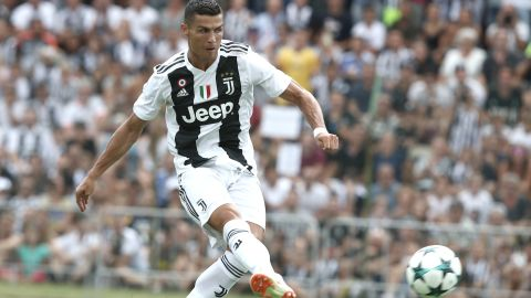 Cristiano Ronaldo made his Serie A debut for Juventus on August 18 in a thrilling 3-2 win at Chievo.