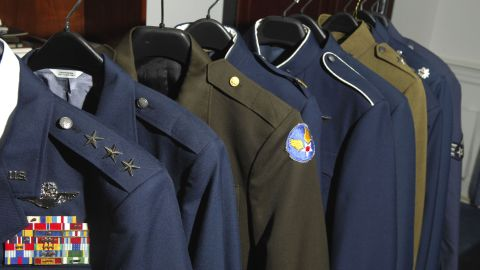The Air Force will look through 7 decades worth of uniforms for inspiration.