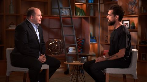 Twitter CEO Jack Dorsey on Reliable Sources.