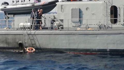 Croatian Coast Guard rescues British woman.