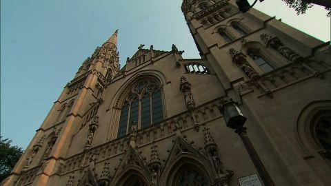 Catholic church first Sunday since report