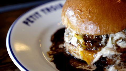 The Big Mec Double Cheeseburger at Petit Trois