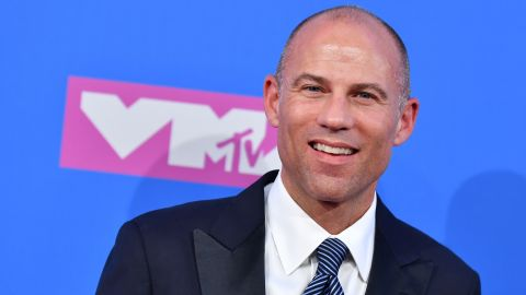 US attorney Michael Avenatti attends the 2018 MTV Video Music Awards at Radio City Music Hall on August 20, 2018 in New York City.