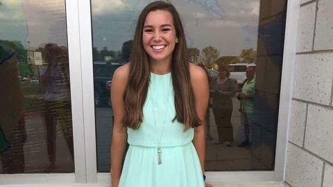 Mollie Tibbetts' relatives and friends have been posting fliers seeking information on her whereabouts.