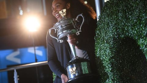 At the start of 2017, sister Venus is beaten in straight sets as a seventh Australian Open is secured and an Open-era record 23rd Grand Slam singles title won. Later we would find out she won while pregnant with her first child.