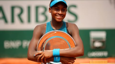 A bright future is being predicted for American star Cori Gauff. Still only 14, Gauff won the French Open junior title earlier this year at Roland Garros.