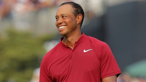 Signs that Woods was back to his best were obvious at August's PGA Championship, where he finished runner-up to Brooks Koepka. It followed an impressive showing at July's British Open, where he briefly topped the leaderboard.