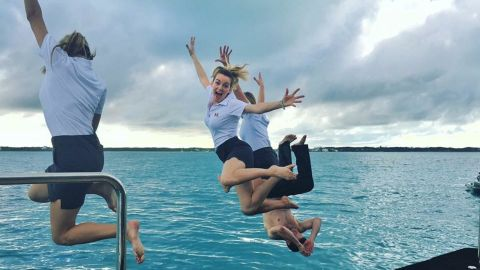 Chelsea Nielsen, like many other yacht stewardess' uses Instagram to document her life onboard and provide advice on what the industry is like.
