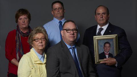 Back row from left: Sharon Tell, John Delaney and Arthur Baselice. Front row: Juliann Bortz and Jim VanSickle.