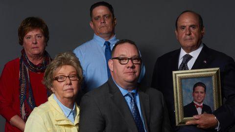 Back row: Sharon Tell, John Delaney and Arthur Baselice. Front: Juliann Bortz and Jim VanSickle