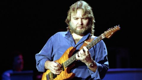 """Retired guitarist <a href=""""https://www.cnn.com/2018/08/23/entertainment/ed-king-lynyrd-skynyrd-death/index.html"""" target=""""_blank"""">Ed King</a>, who co-wrote the Lynyrd Skynyrd hit """"Sweet Home Alabama,"""" the tune with the classic riff that became a Southern rock anthem, died on August 23, his Facebook page said. The post did not include a cause of death or King's age."""