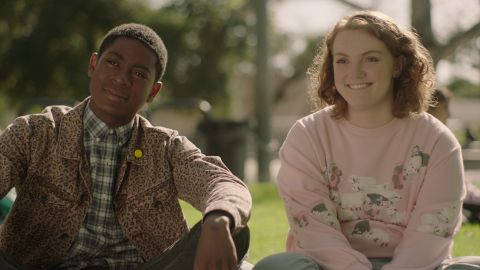 """<strong>""""Sierra Burgess is a Loser"""": </strong>A wrong-number text sparks a virtual romance between a smart but unpopular teen and a sweet jock who thinks he's talking to a gorgeous cheerleader in this rom-com. <strong>(Netflix) </strong>"""