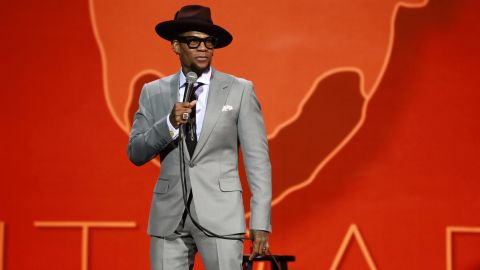 """<strong>""""D.L Hughley: Contrarian""""</strong>: Comedian D.L. Hughley riffs on politics, """"Black Panther,"""" his upbringing and more in a rapid-fire stand-up show filmed at at Philadelphia's Merriam Theater. <strong>(Netflix) </strong>"""