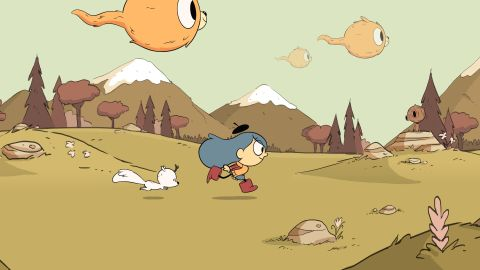 """<strong>""""Hilda""""</strong>: Hilda travels from a wilderness full of elves and giants to Trolber, a bustling city packed with new friends and mysterious creatures in this kids TV series.<strong> (Netflix) </strong>"""