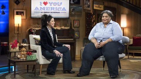"""<strong>""""I Love You, America with Sarah Silverman"""" Season 2</strong>:  The comic is her unfiltered self in this late-night talk show with guests like writer Roxane Gay. <strong>(Hulu) </strong>"""